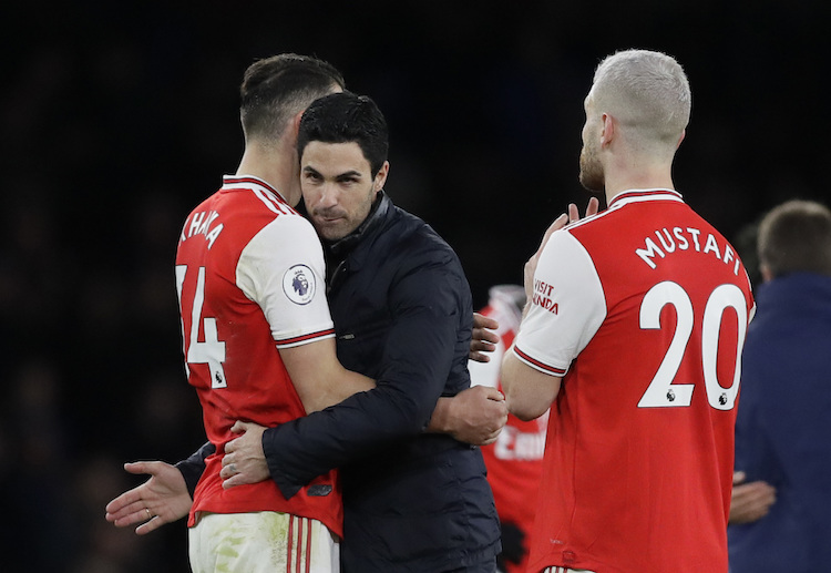 Mikel Arteta and Granitt Xhaka look forward to create more Premier League highlights for Arsenal this season