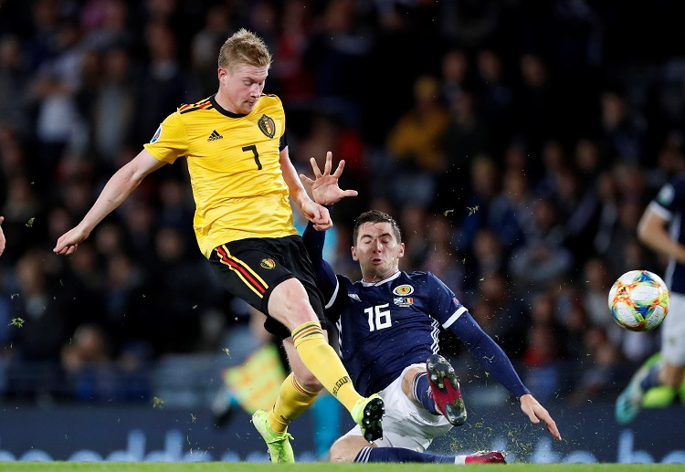 Kevin De Bruyne is expected to step up his game for Belgium in the upcoming Euro 2020