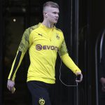 Erling Braut Haaland has nine Bundesliga goals for Borussia Dortmund this season
