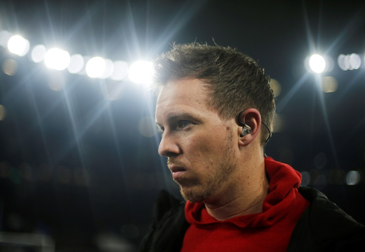 Manager Julian Nagelsmann hopes for RB Leipzig's dominance in their next games to overtake Bayern on top of Bundesliga