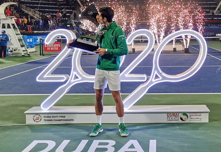 ATP Tour 2020 News: Novak Djokovic extend win streak and claim fifth title in Dubai