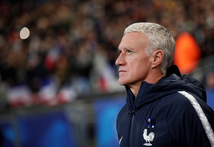 Didier Deschamps ready to line up his best France XI in the upcoming Euro 2020 tournament