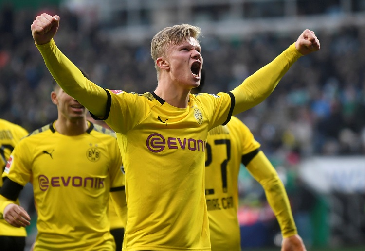 Erling Braut Haaland quickly made his presence felt in the Bundesliga upon his arrival to Dortmund
