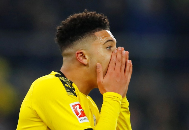 Jadon Sancho's team Borussia Dortmund are currently sitting on the second place of Bundesliga table