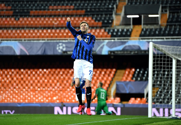 Atalanta's Josip Ilicic became the oldest player to score a hat-trick away from home in the Champions League