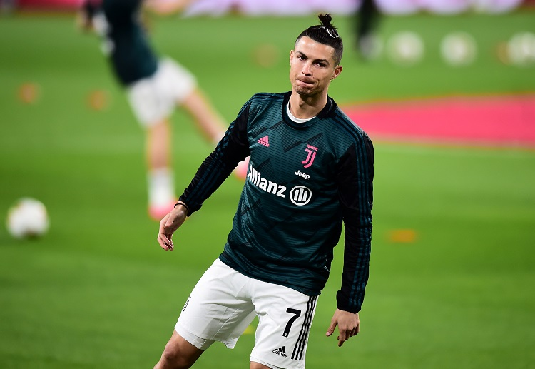 Cristiano Ronaldo is aiming to give Juventus their 9th consecutive Serie A title this season
