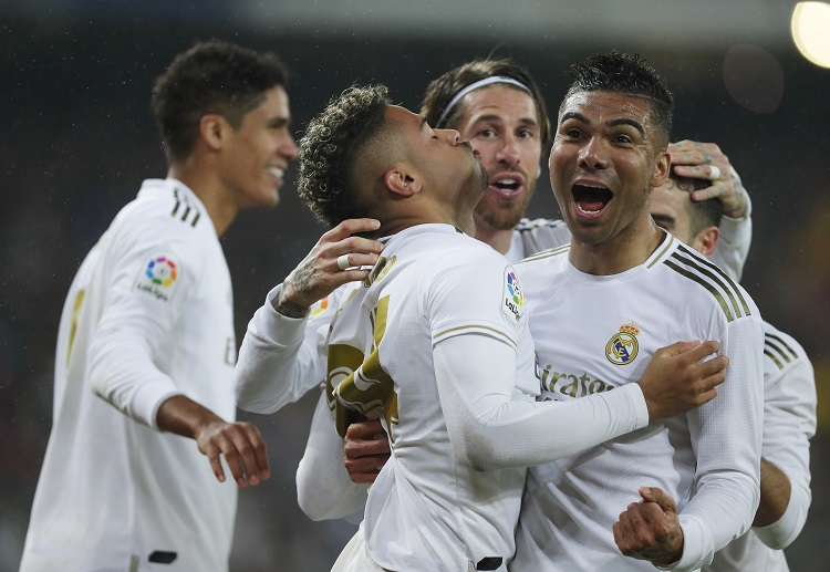Real Madrid secured a 2-0 win over Barcelona as they regain top spot in La Liga