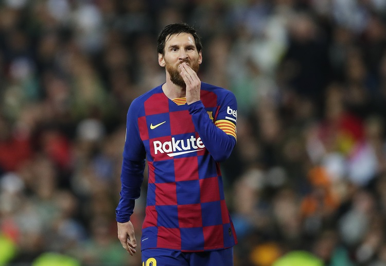 Lionel Messi is the only active player in the top 5 who still plays in La Liga