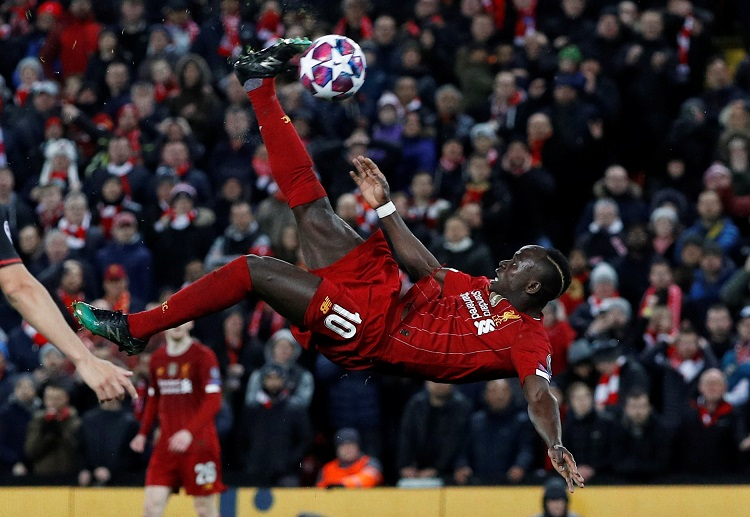 Sadio Mane showing his talents with his Premier League club Liverpool