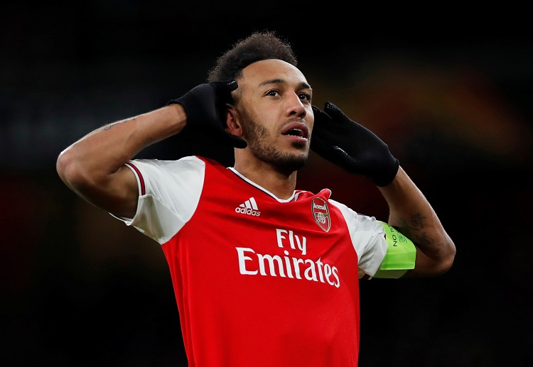 Pierre-Emerick Aubameyang looks to lead Arsenal to get their third straight win in Premier League