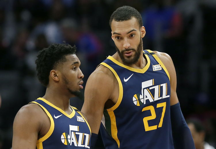 Utah Jazz center Rudy Gobert's positive test prompted the suspension of the NBA season