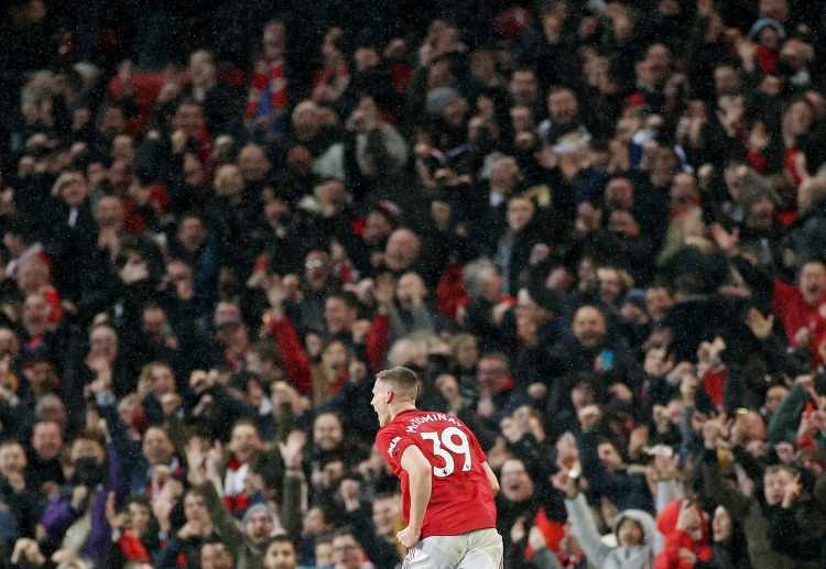 Scott McTominay just won Manchester Derby with his team before Premier League got suspended