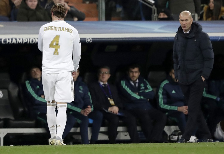 Zinedine Zidane could win another La Liga title if he pushes his squad through the final half of the season