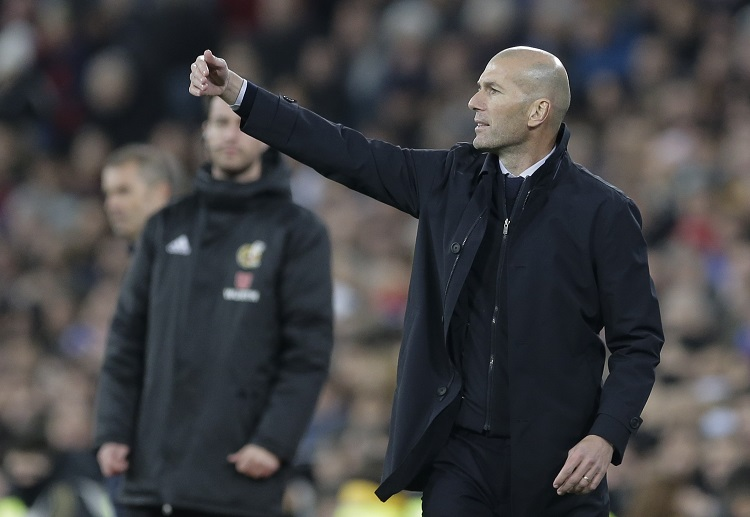 Zinedine Zidane remains determined to lead Real Madrid to La Liga glory