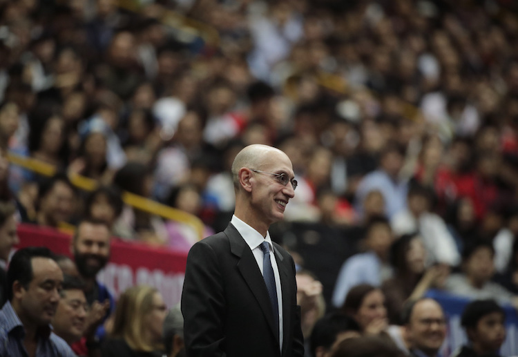 Commissioner Adam Silver reveals the NBA league are preparing for all potential options