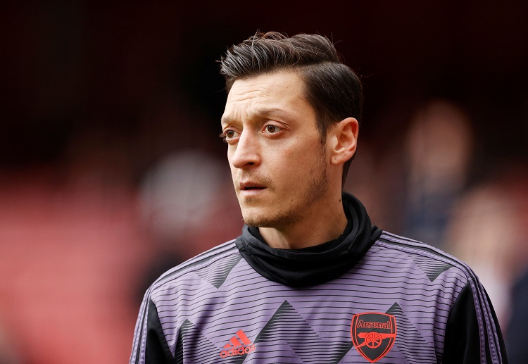 Premier League: Mesut Ozil is currently Arsenal's highest earner with £350,000-a-week