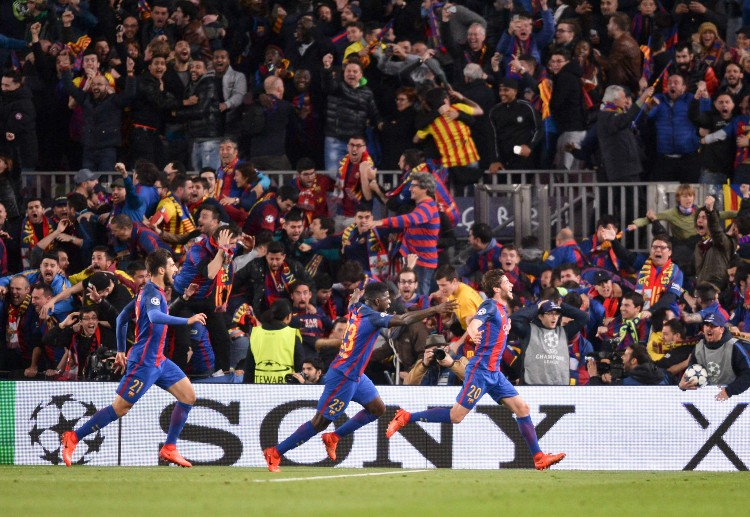 Barcelona come from behind to defeat Paris Saint-Germain 6-1 (6-5 agg) in the Champions League quarter-finals