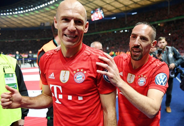 Bayern Munich legends Arjen Robben and Franck Ribery have been vital in the club's Bundesliga campaign
