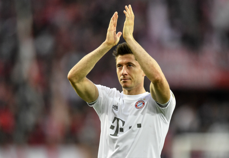 Robert Lewandowski won a fourth Torjägerkanone as the Bundesliga's top scorer last season