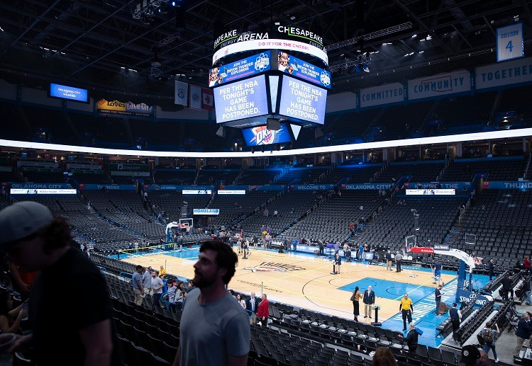 Due to the threat posed by COVID-19, NBA playoffs might continue but behind closed doors in Las Vegas