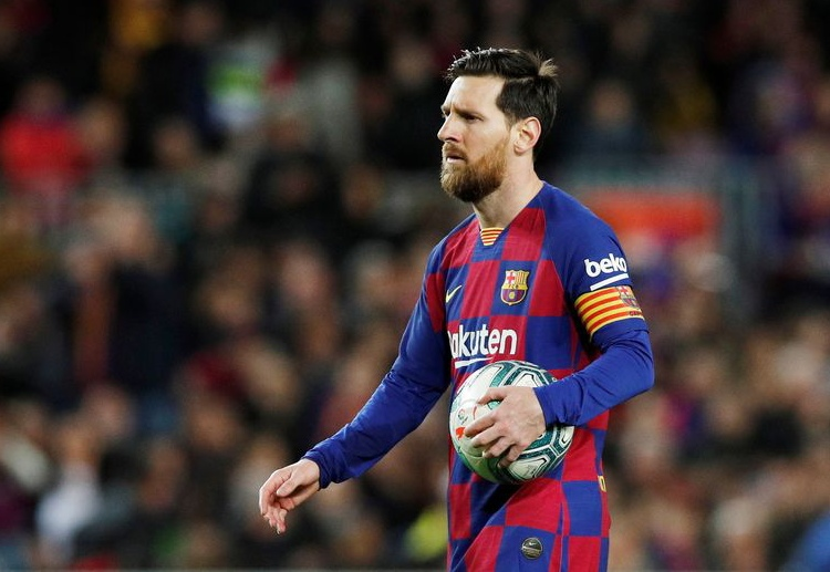 Leo Messi leads Barcelona's initiative to take a wage cut to help the La Liga champions during this COVID-19 pandemic