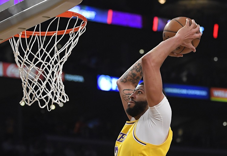 Anthony Davis is one the vital players in the Lakers' NBA campaign
