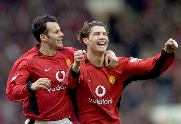 Cristiano Ronaldo join Premier League club Manchester United in 2003