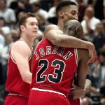 Michael Jordan lifted the Bulls up against the Jazz during the 1997 NBA Finals despite having the flu