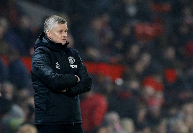 Ole Gunnar Solskjaer looks dejected following Manchester Unted's 3-3 draw with Sheffield United in Premier League
