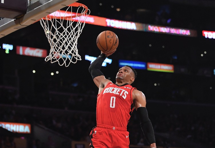Russell Westbrook has blended nicely with the Rockets during his first NBA season with the team