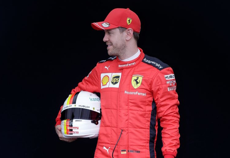 Sebastian Vettel is determined to bring a championship title for Ferrari despite unfavourable odds this season