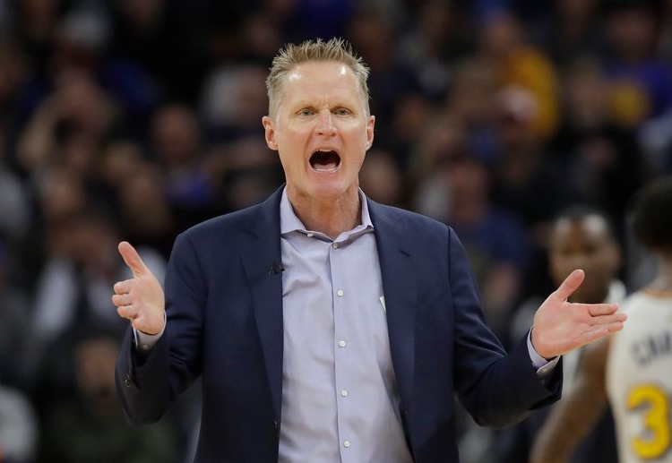 GSW coach Steve Kerr hopes for a comeback next season as they now explore for options in the upcoming NBA lottery