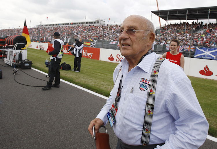 Stirling Moss is remembered as a sports pioneer with a record of 212 victories in 529 races in his long Formula 1 career