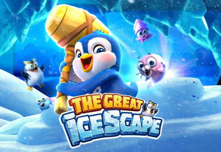 Join the baby penguin in the Great Icescape
