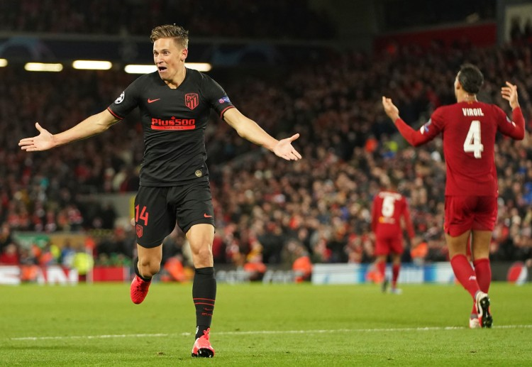 Atletico Madrid progress to the Champions League quarter-finals after winning against Liverpool