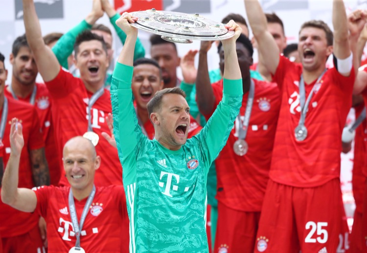 Manuel Neuer is looking to extend his tally of 18 trophies overall to 19 at the end of 2019-20 season.