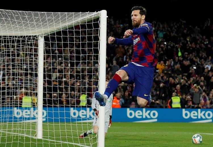 Barcelona forward, Lionel Messi is looking forward to a busy few weeks in the La Liga.