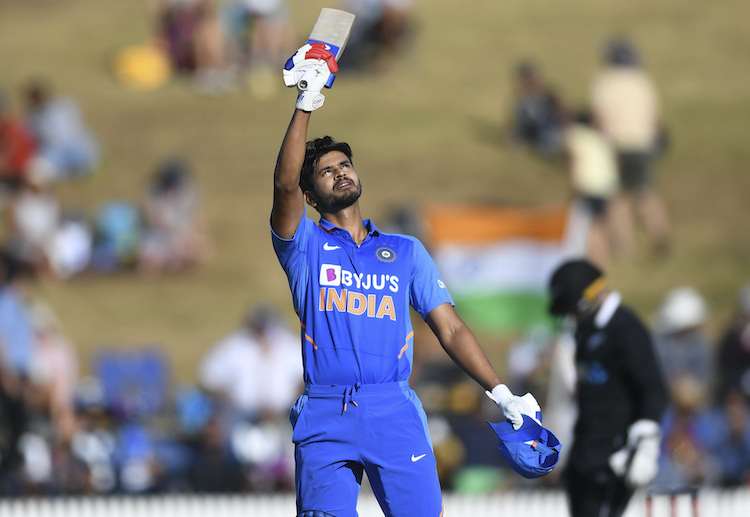 Shreyas Iyer has batted at number four more than any other Indian batsman in recent matches