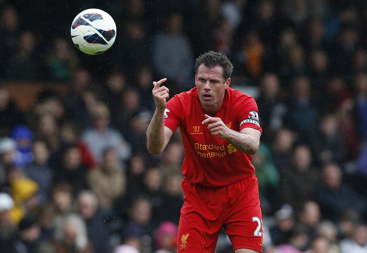 Jamie Carragher is a Liverpool legend but with an unwanted record of own goals to his name.