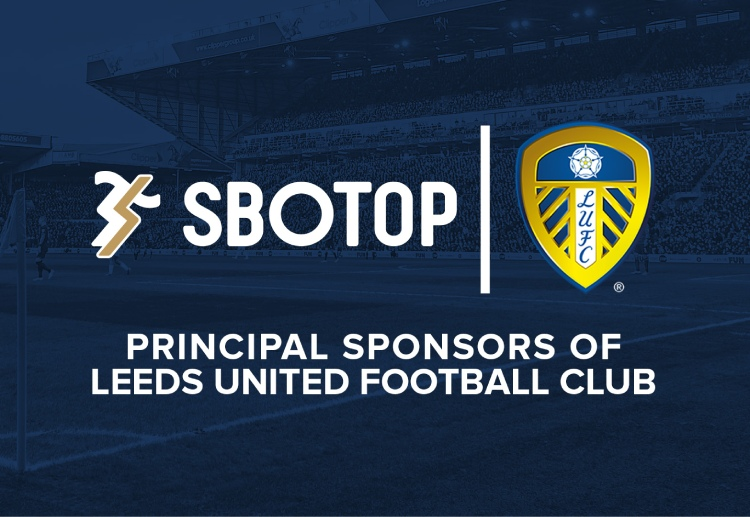 Leeds United and SBOTOP have entered into a multi-year partnership