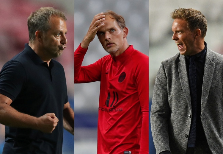 These three German Coaches had their playing career curtailed due to major injuries.