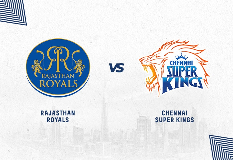 RR vs CSK has been won by Chennai more often.