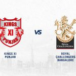 Both teams have won an equal number of games in KXIP vs RCB.