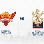 SRH vs RCB has been won by Hyderabad more often.