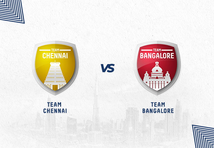 CSK vs RCB fixtures have been won by Chennai more often.