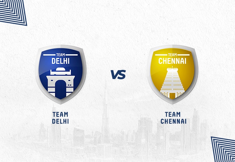 DC vs CSK has been heavily dominated by Chennai in the past years.