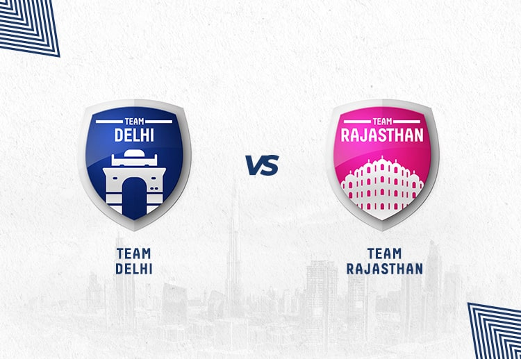 DC vs RR has been won by Rajasthan more often.