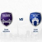 KKR vs DC has been won by Kolkata more often.