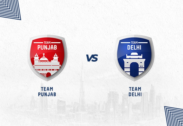 KXIP vs DC has been won by Punjab more often.
