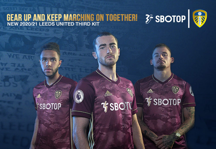 Leeds United launched its third kit for the 2020/21 Premier League season
